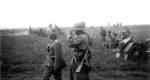 Infanteriegeschütz im Einsatz