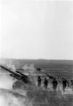 Feuerstellung der 10. Batterie des Artillerieregimentes 260