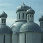 Eine orthodoxe Kirche in Belarus