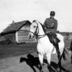 Oberst Friker und sein Adjutant Oberleutnant Reuss