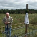 Am Soldatenfriedhof der 260. ID in Kononowka