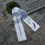 Der Kranz der 260. ID am Soldatenfriedhof Berjosa