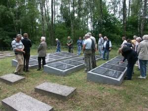 Der Kriegsgefangenenfriedhof in Tschernigow