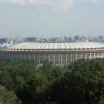 Das Olympiastadion Luschniki - Heimat von Spartak Moskau