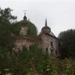 Die alte Kirche bei Gostechevo