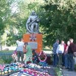 Das Ehrenmal für die russischen Gefallenen
