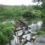 Die Reste der Schwabenbrücke
