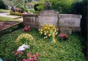 Das Grab der Familie von Choltitz