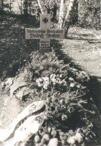Das Grab von Oberst Strohm