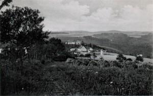 Der kleine Ort Triebl um 1940