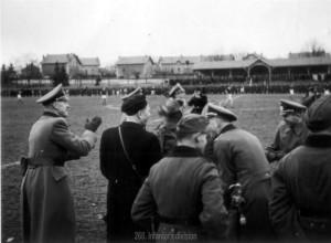 Fußball beim Divisionssportfest