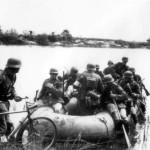 Divisionsübung bei Dettey am 6.5.1941