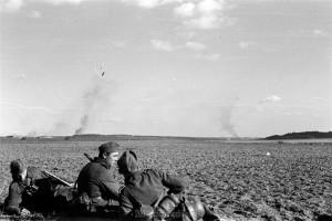 Am 24.07.1941: Romanischtsche brennt