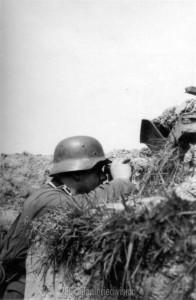 vor dem russischen Großangriff Sommer 1944