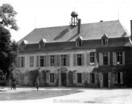 Commandement divisionnaire du château d'Arnicourt le 10 juin 1940