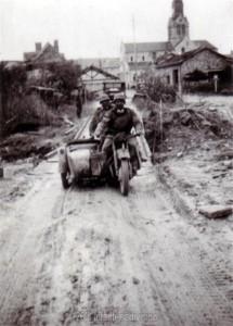 Kradmelder der 260. Infanteriedivision