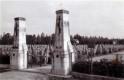 Deutscher Soldatenfriedhof des ersten Weltkrieges in Frankreich im Jahr 1940