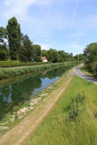 Der Aisne-Kanal bei Château-Porcien 2019
