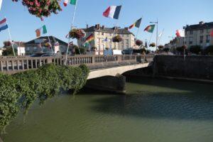 Die Aisnebrücke in Rethel 2019