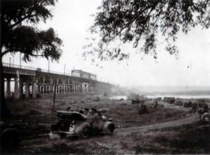Die Brücke über die Desna am 14.09.1941
