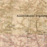 Ausschnitt einer Originalkarte