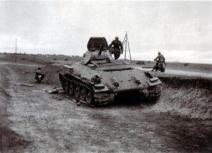 abgeschossener T-34