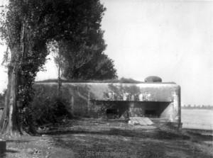 Stellung am französischen Ufer