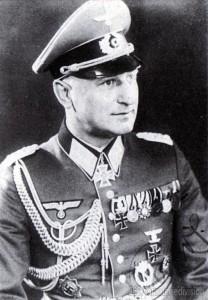 Eugen Baur in Galauniform