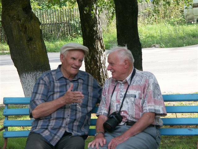 German and Russian veterans as friends