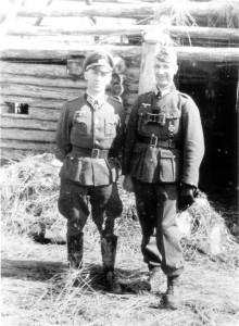 General Hahm und Major Strohm
