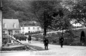 Grenzübertritt bei Dasburg