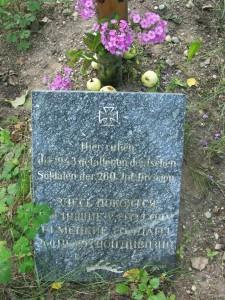 Gedenkstein der 260'er