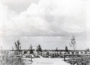 Der Divisionsfriedhof Cholmowaja