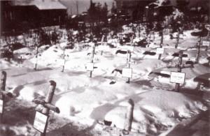 Gräber gefallener Soldaten der 260. ID