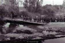 Der Steg über die Aisne