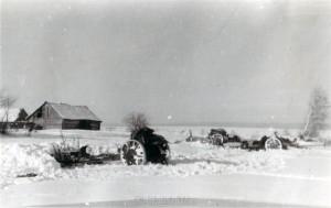 Bei Juchnow am 10. Januar 1942
