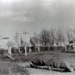 Der Friedhof am 03. August 1943