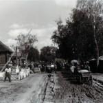 Die Ortsmitte am 03 August 1942