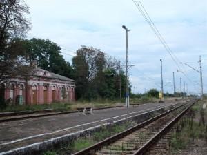 Bahnstation Mordy im Jahr 2010