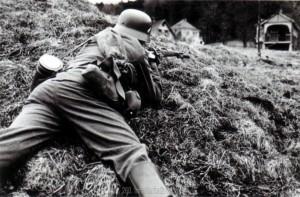 Soldaten der Division bei der Gefechtsausbildung