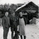 Im Soldatenheim zu Besuch am 22.1.1943 Carnovka
