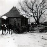 Kriegswinter in Russland 1941-42 als Andenken an -52 Grad Kälte