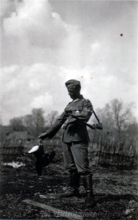 Mein erster Birkhahn - Charinky, Russland am 24. April 1942