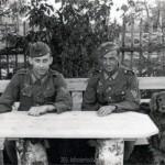 Mit Erwin Mai 1943