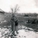 Zwei Birkhühner geschossen am 30. April 1942 in Charinky, Russland