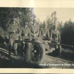 Reinhard Porembski mit Kameraden in Russland im Jahr 1942