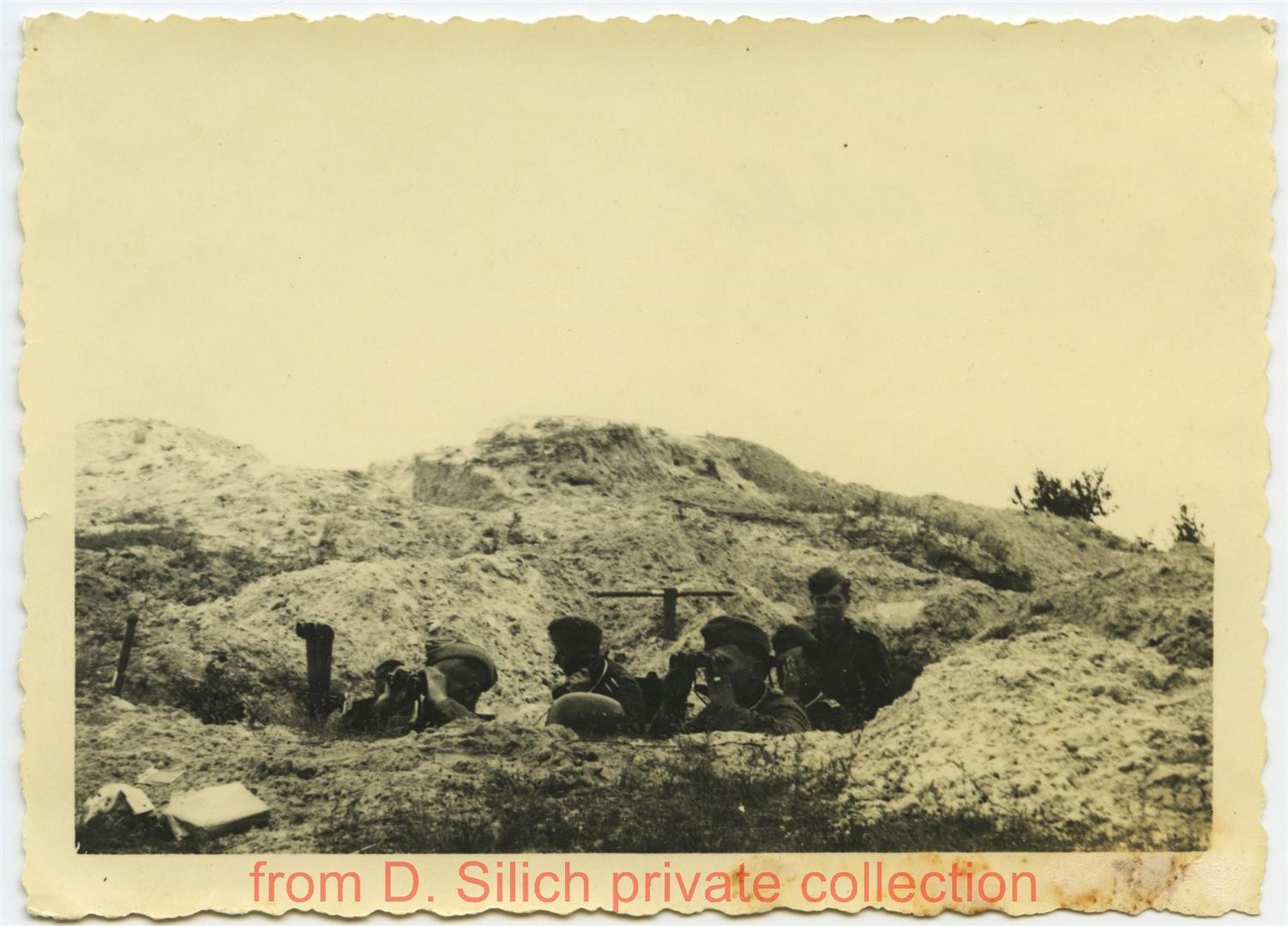Vorgeschobene Artilleriebeobachter bei Peski