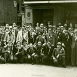 Otto Pfaender bei der Musterung in Stuttgart 1939
