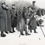 Otto Pfaender liegend, Paray le Monial, Frankreich 1941