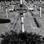 Das Grab von Leutnant Otto Pfaender